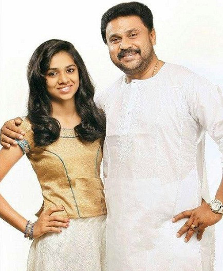 Dileep with his daughter