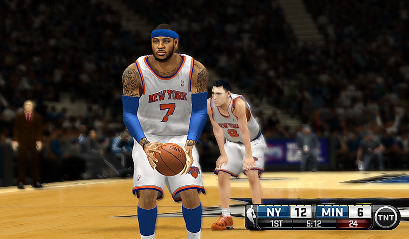Melo with Beard | NBA 2K14 Patch