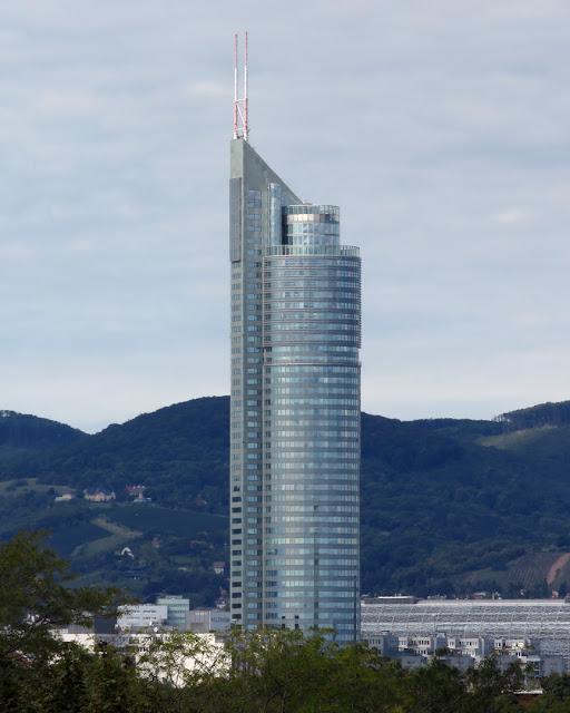 Millennium Tower by Gustav Peichl, Boris Podrecca and Rudolf F. Weber, Handelskai, Brigittenau, Vienna