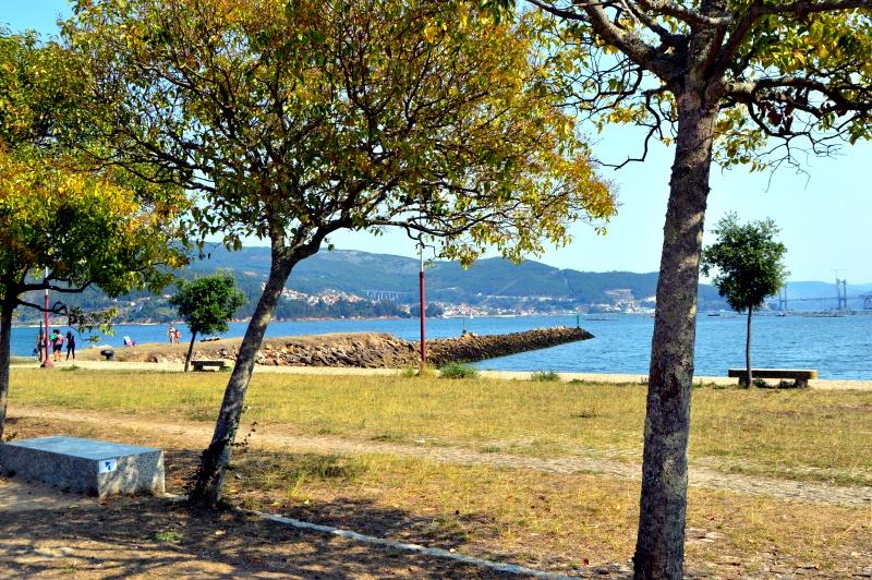 Área recreativa de la ETEA Vigo plan infantil ocio