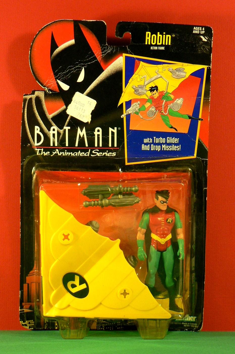 Batman the Animated Toys: Kenner Turbo Glider Robin