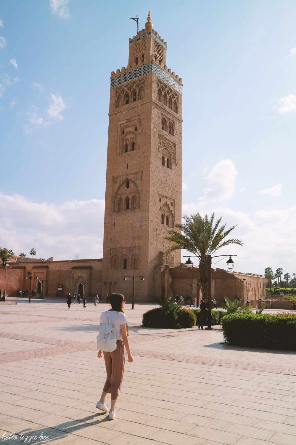 koutoubia mosque, travel blogger