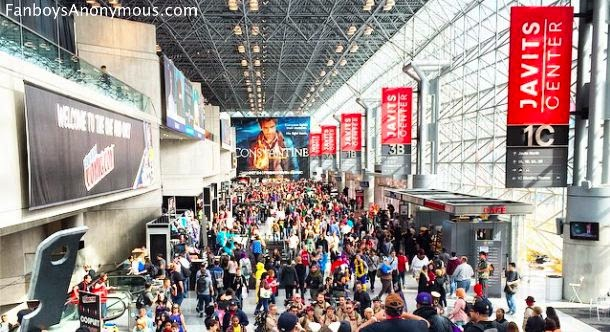 151,000 fans attended NYCC in 2014, surpassing San Diego Comic Con