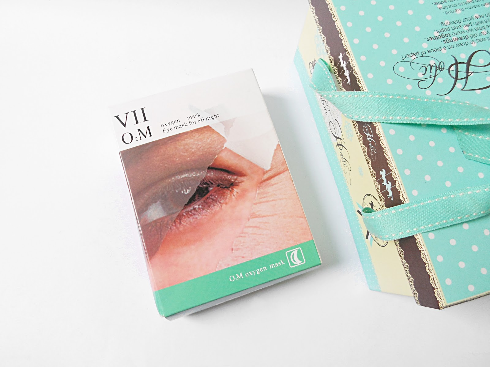 liz breygel review blogger eye mask oxygen for all night VIICODE