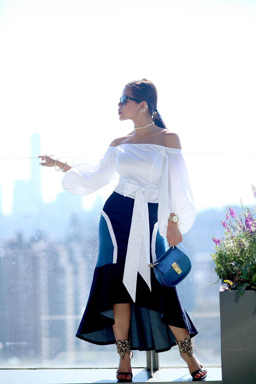 Crystal Phuong- New York Fashion Week 2016- Streetstyle day 7