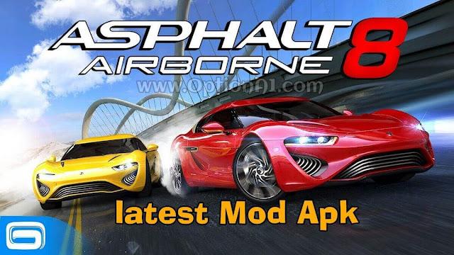 تحميل لعبة Asphalt 8 للاندرويد مجانا برابط مباشر معدله مال بلا حدود وسيارات اخر اصدار Download Asphalt 8 Airborne latest Mod Apk