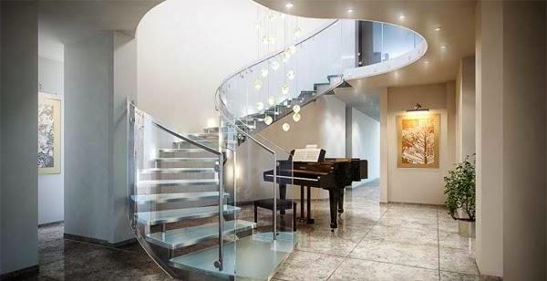 Dream House 2014 Design Inspiration Luxury Home Appliances | Modern House Ladder Design | Inside Outside | Metal Balustrade | Loft | Outdoor Balcony | Beautiful