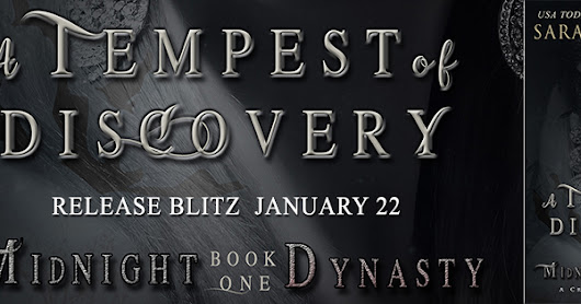 Release : A Tempest of Discovery by Sarah M. Cradit (January 22)