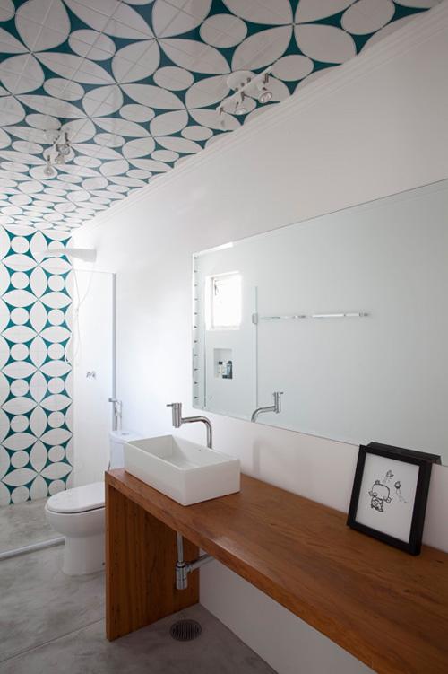 okissia: ideas de azulejos y suelos para el cuarto de baño.