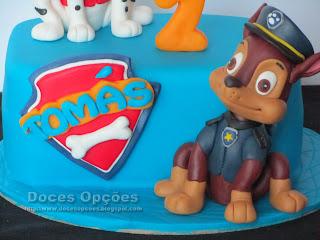 bolo patrulha pata doces opções bragança susana aleixo