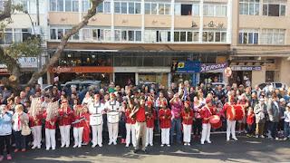 Apresentação da Banda da Escola Municipal Sakurá