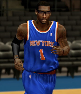 NBA 2K13 Knicks Amare Stoudemire Cyberface Patch Mod