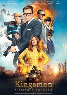 Kingsman – O Círculo Dourado 2017 Torrent Download – BluRay 720p e 1080p 5.1 Dublado / Dual Áudio