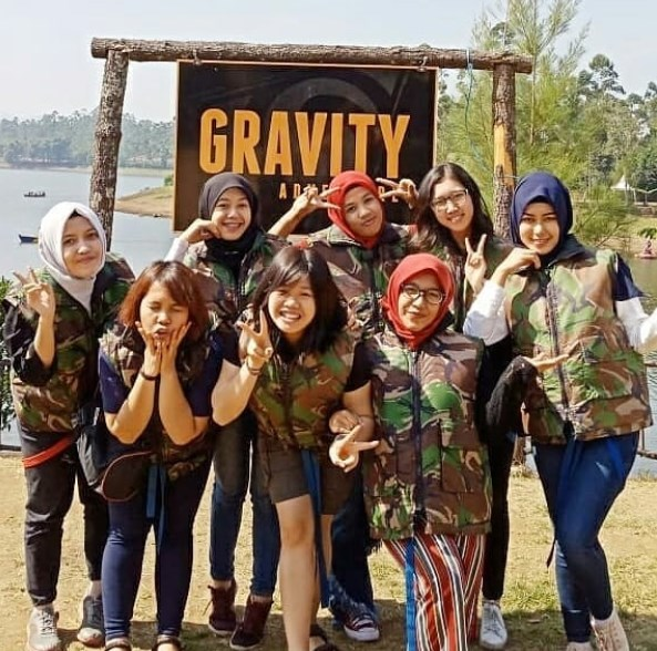 EO FAMILY GATHERING BARENG GRAVITY ADVENTURE OUTBOUND BANDUNG