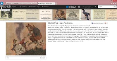 World Digital Library tétel és adatai