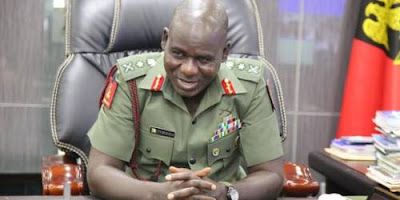 Army Chief of Staff Tukur Buratai.