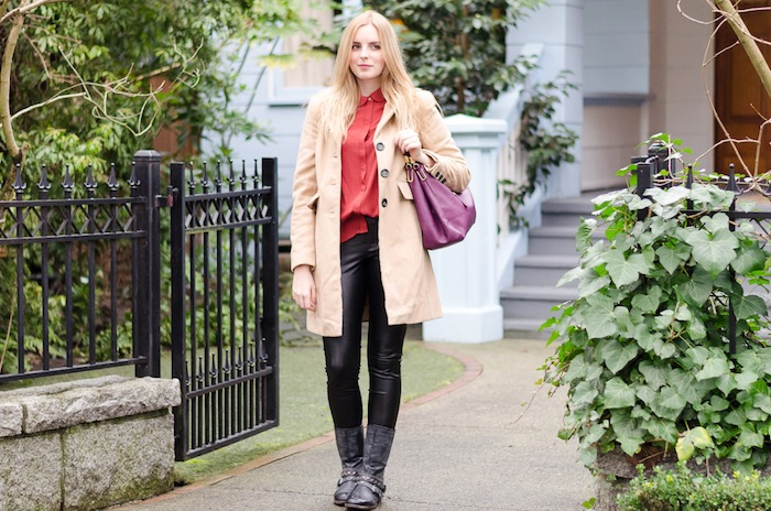 the urban umbrella style blog, vancouver style blog, vancouver fashion blog, vancouver lifestyle blog, vancouver health blog, vancouver fitness blog, vancouver travel blog, canadian fashion blog, canadian style blog, canadian lifestyle blog, canadian health blog, canadian fitness blog, canadian travel blog, bree aylwin, how to style leather pants, wilfred leather leggings, aritzia leather leggings, how to style leather, how to style combat boots, how to style a peter pan collar, how to style leather during the day, how to style a button down shirt, hm chiffon blouse, best style blogs, best lifestyle blogs, best fitness blogs, best health blogs, best travel blogs, top fashion blogs, top style blogs, top lifestyle blogs, top fitness blogs, top health blogs, top travel blogs