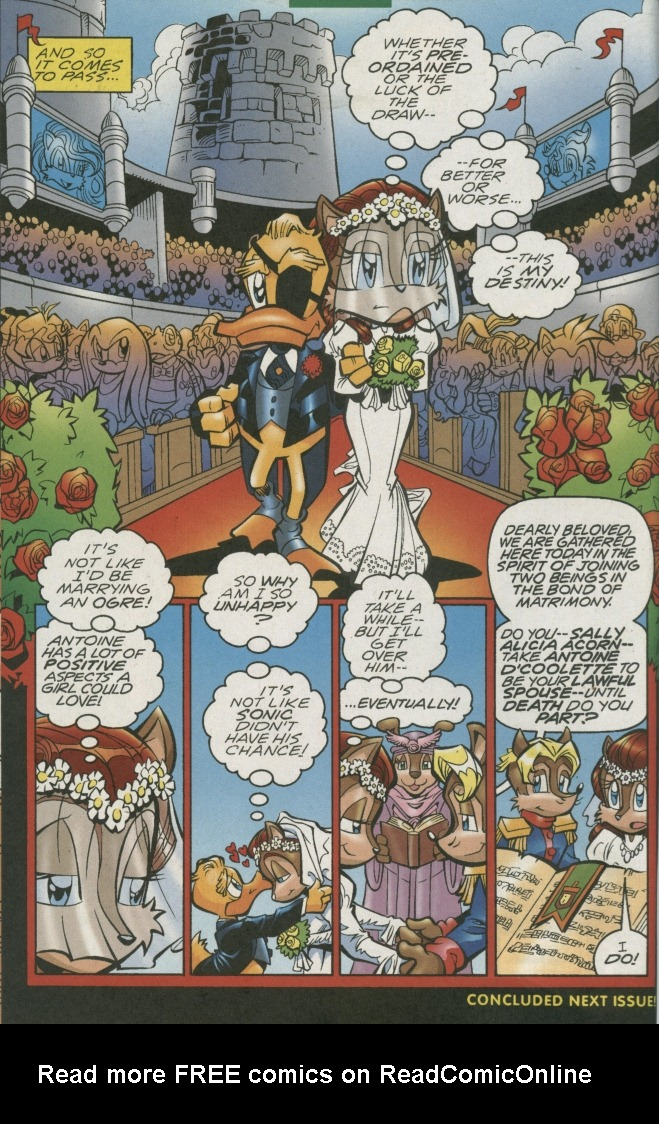 Read online Sonic The Hedgehog comic -  Issue #155 - 32