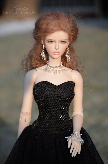 Anthemis Daisy Raccoon Doll