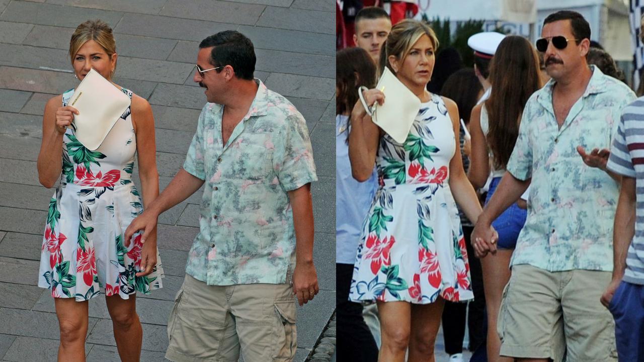 Jennifer Aniston e Adam Sandler gravam nova comédia