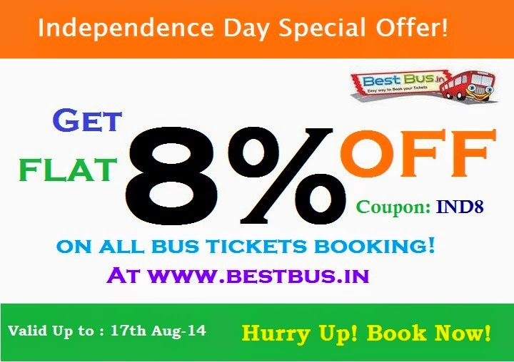 Best Online Bus Tickets Booking Website in India!