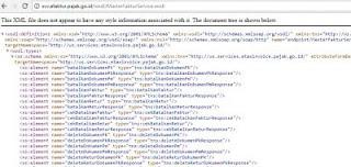 cara cek server e-faktur pajak, wsdl service pajak