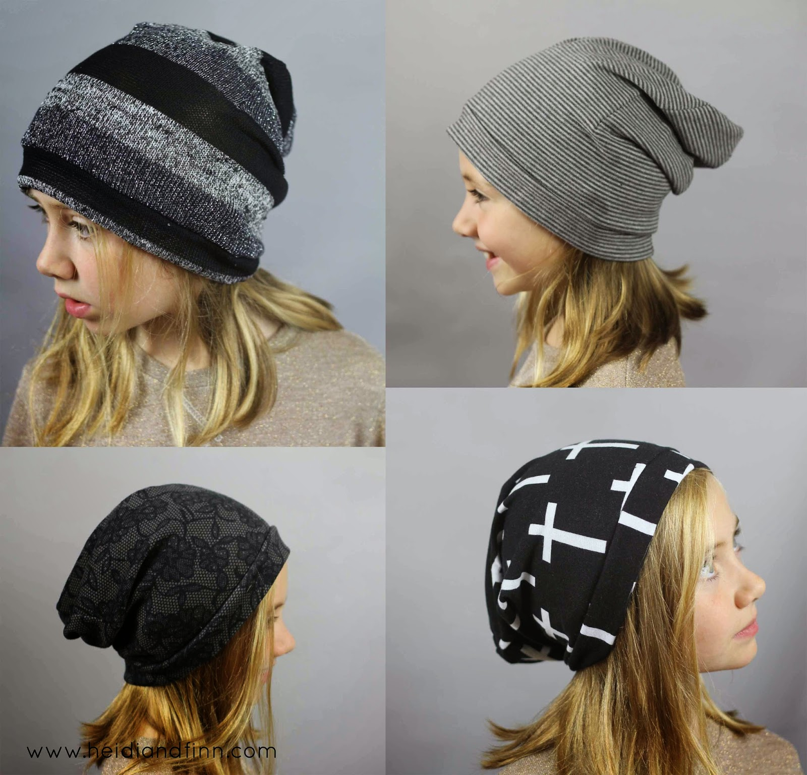 HeidiandFinn modern wears for kids  Slouchy Beanie hat - FREE ... 75b7c679ccf