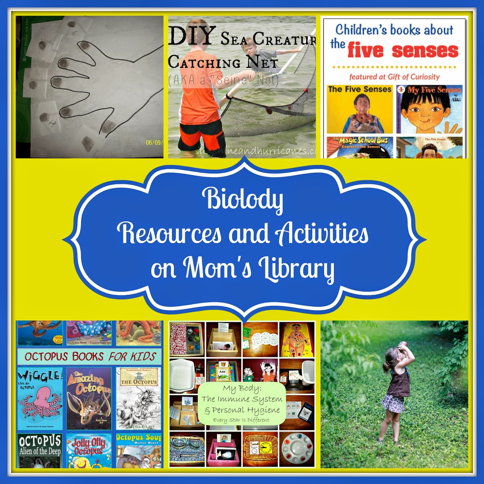 Kid's Biology Resources at Mom's Library