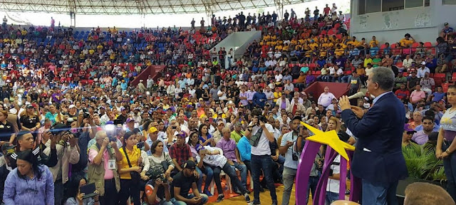San Francisco de Macorís. El expresidente de la República, Leonel Fernández, proclamó en esta ciudad que la unidad del Partido de la Liberación Dominicana (PLD) está garantizada por los 2 millones de personas que avalan su proyecto de cara al 2020.