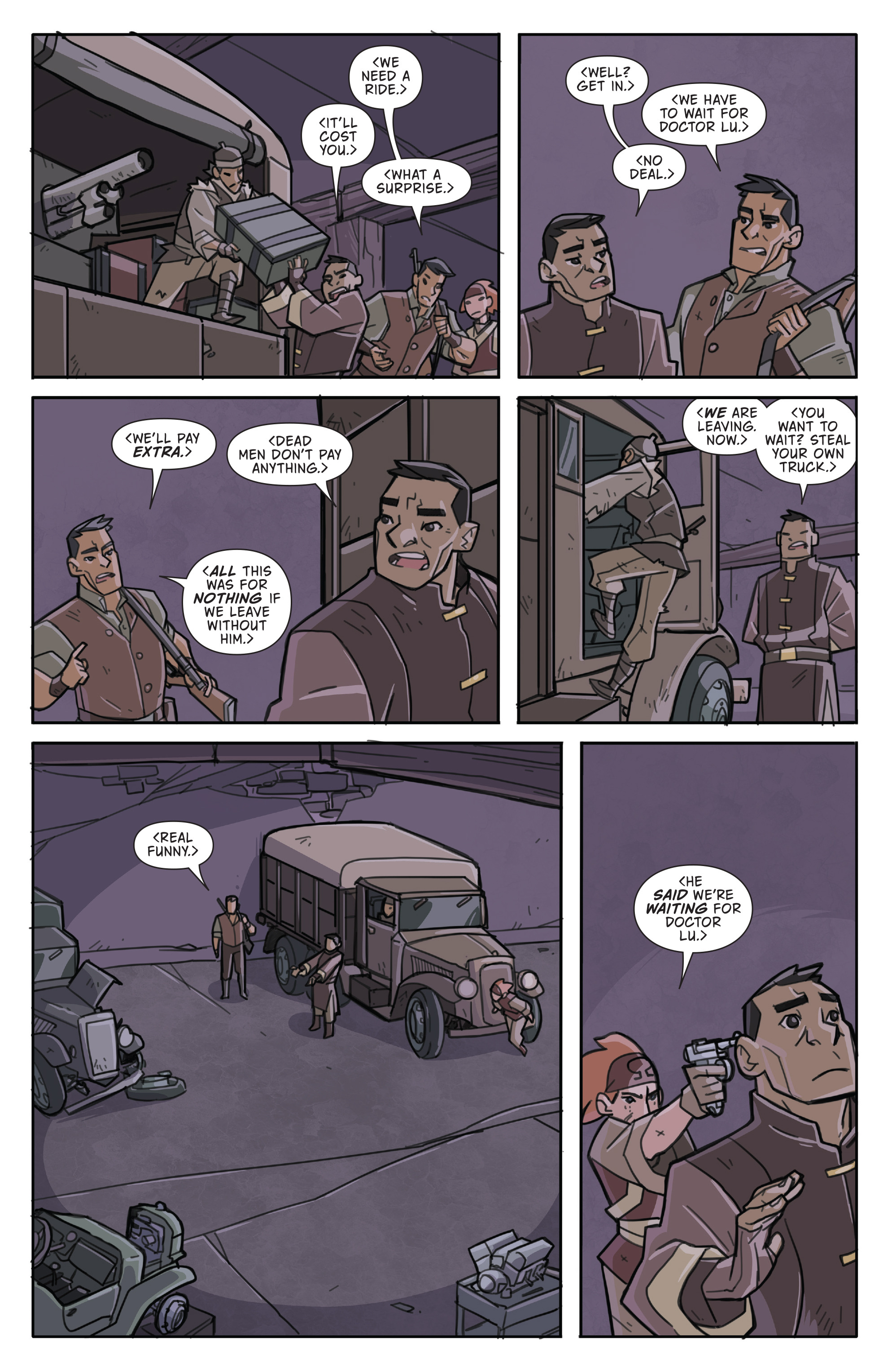 Read online Atomic Robo and the Temple of Od comic -  Issue #5 - 14
