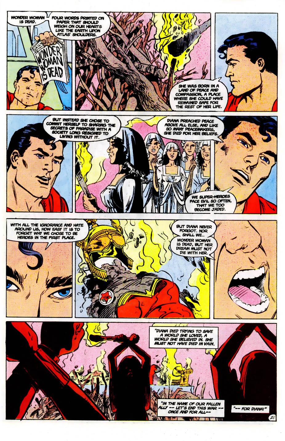 Read online Wonder Woman (1987) comic -  Issue #61 - 23