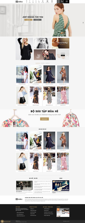 mẫu cửa hàng thời trang wn016