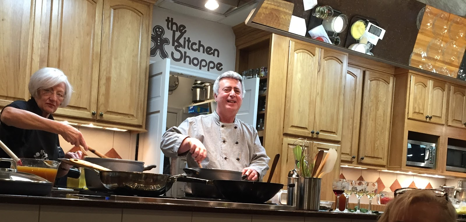 Muddy Puddle Musings: The Kitchen Shoppe Experience