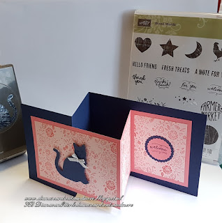 Stampin'Up! Wood Words, Cat Punch