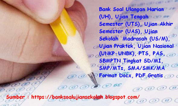 Soal PAT/ UKK PPKn Kelas 8 SMP/MTs Kurikulum 2013 Tahun 2018/2019