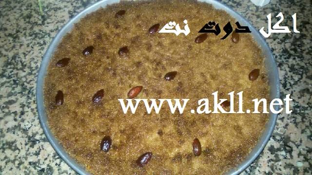 طريقة عمل الهريسة - اكلات رمضان