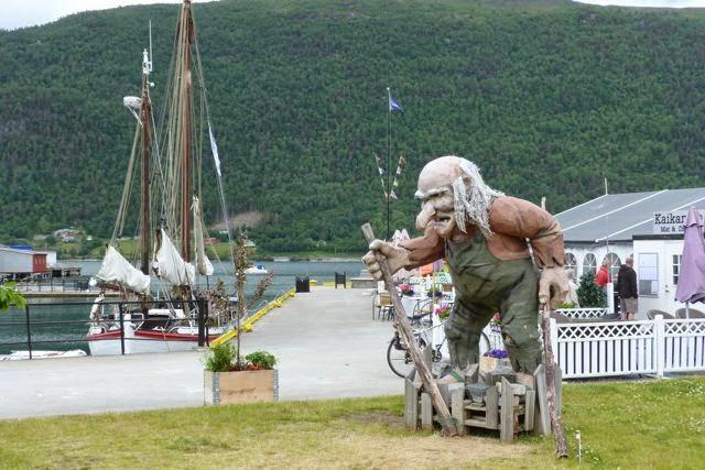 Noorwegen trol in Andelsnes