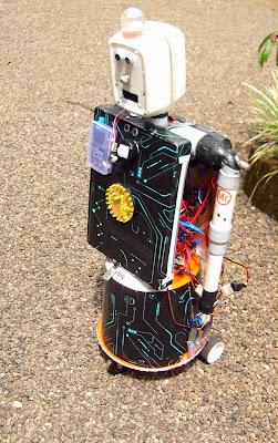 Mr.Robot - A personal mutitalented robot, robotechmaker, muhammed azhar