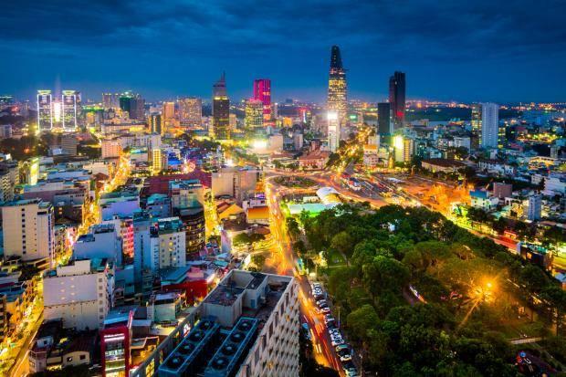 Ho Chi Minh City, Saigon City, Percutian ke Ho Chi Minh. Aku datang!