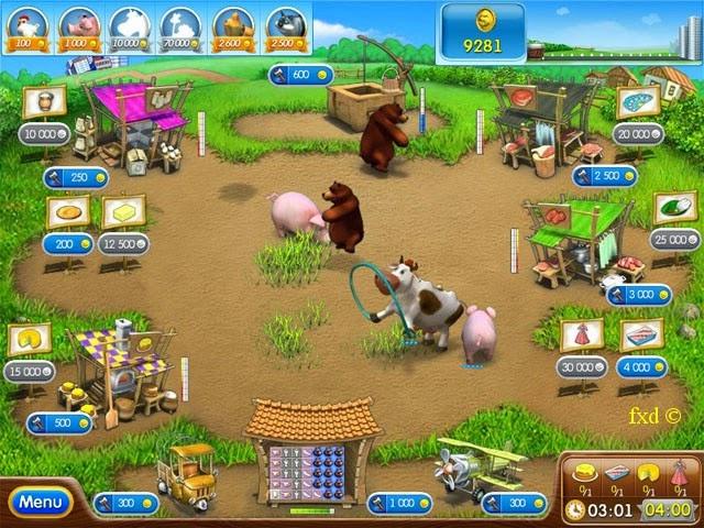 تحميل لعبة المزرعة السعيدة 2014 الجديدة بتحديثات 2015 Download Happy Farm Game