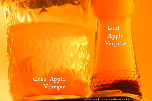 Colonial recipe crab apple verjuice