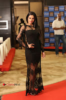 Actress Soniya Stills in Beautiful Black Long Dress at SIIMA Short Film Awards 2017 .COM 0080.JPG
