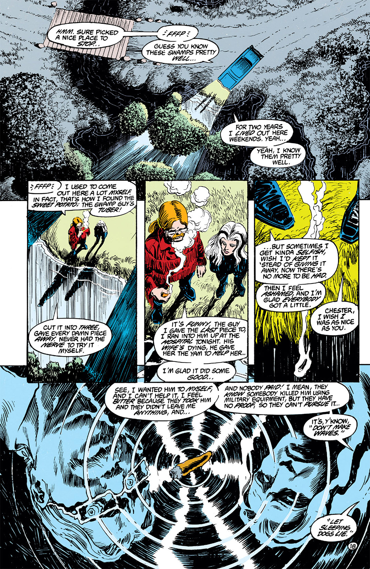 Swamp Thing (1982) Issue #63 #71 - English 18