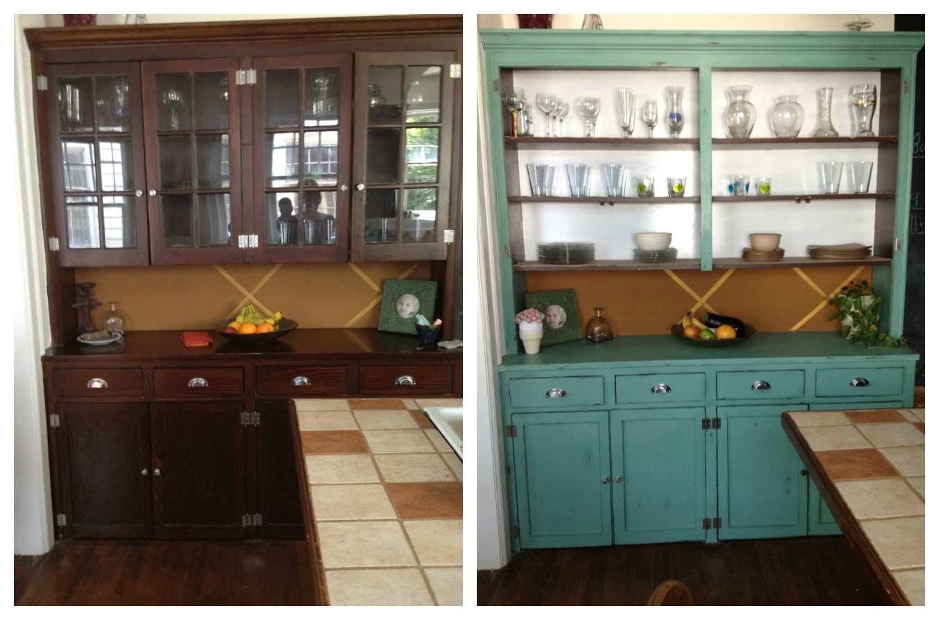 Beauty Asylum: Distressed Buffet From The 1930's