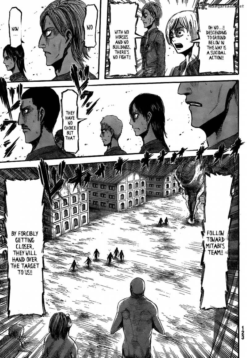 Shingeki no Kyojin Ch 11: Response