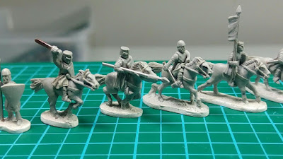 Project Update #1: 13th Century 10mm Baronial Wars English Army miniatures Kickstarter from Apocalypse Miniatures