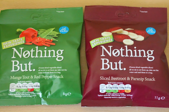 Nothing But. snacks - www. jibberjabberuk.co.uk