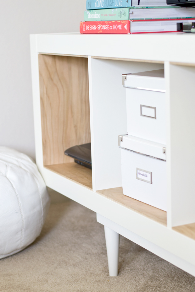 Ikea Hack Shelving Unit To Tv Stand Infarrantly Creative