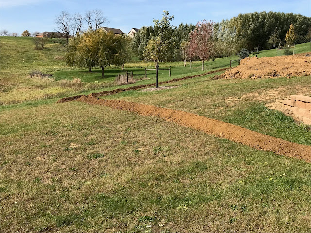 Woodward Acres: Trench New Gas Line