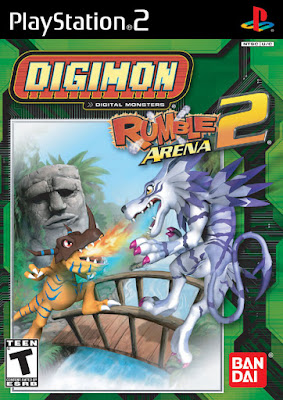 Digimon Rumble Arena 2 PS2 GAME ISO